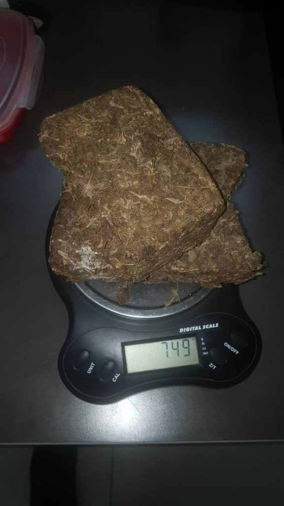 Marijuana and digital scale found in Bethel