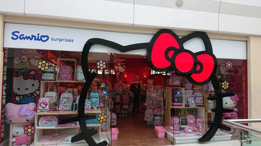 Hello Kitty back to school items on sale.
