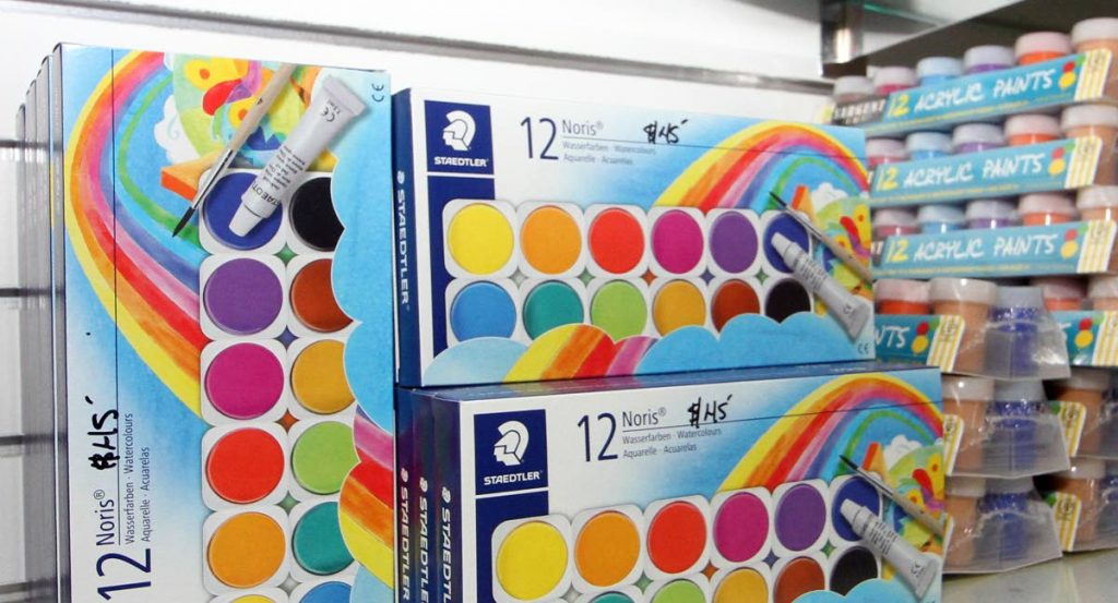 Paint is one of the main items on any back-to-school art supplies list.