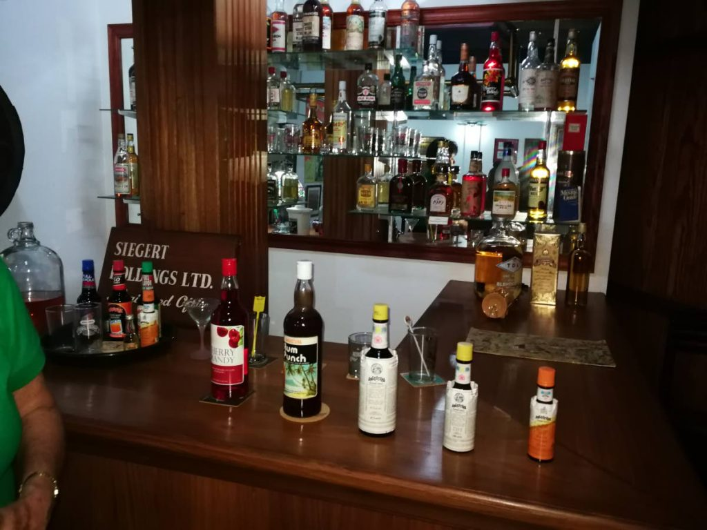 Some of Angostura's range of products.