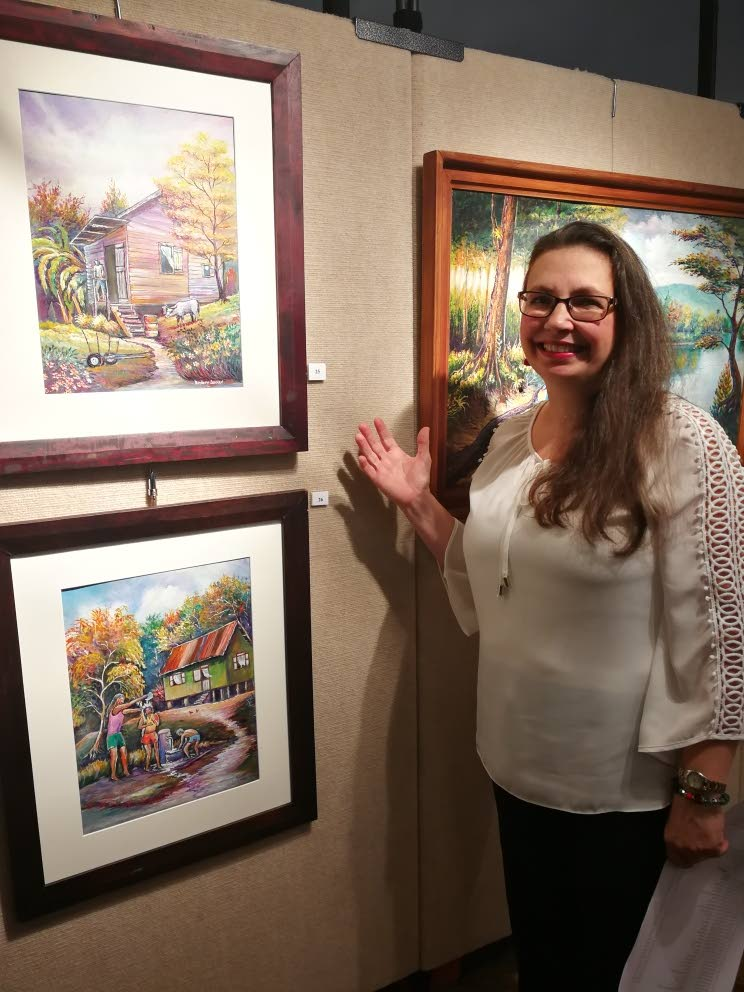 Lisa Leid, manager of Horizons Art Gallery.