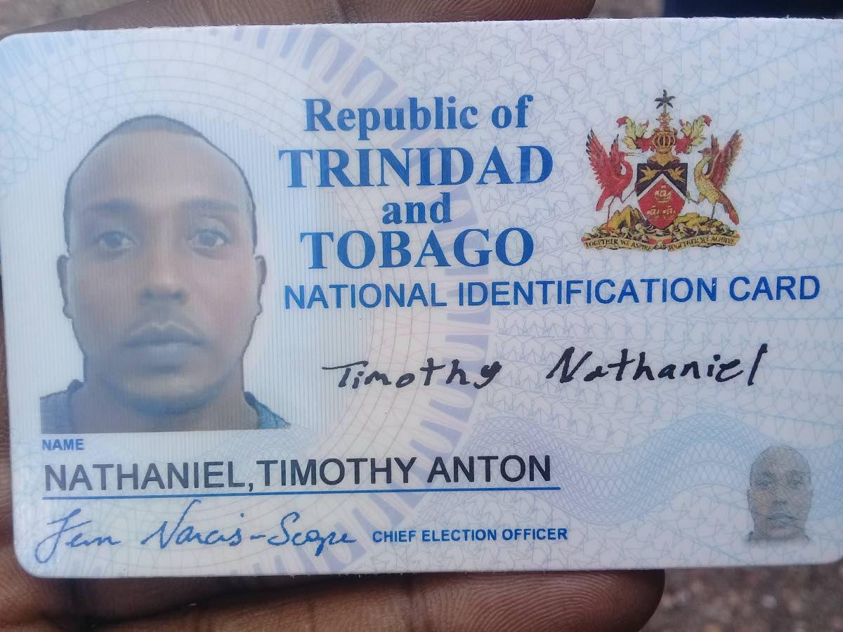 Timothy Nathaniel, shot dead in Sangre Grande