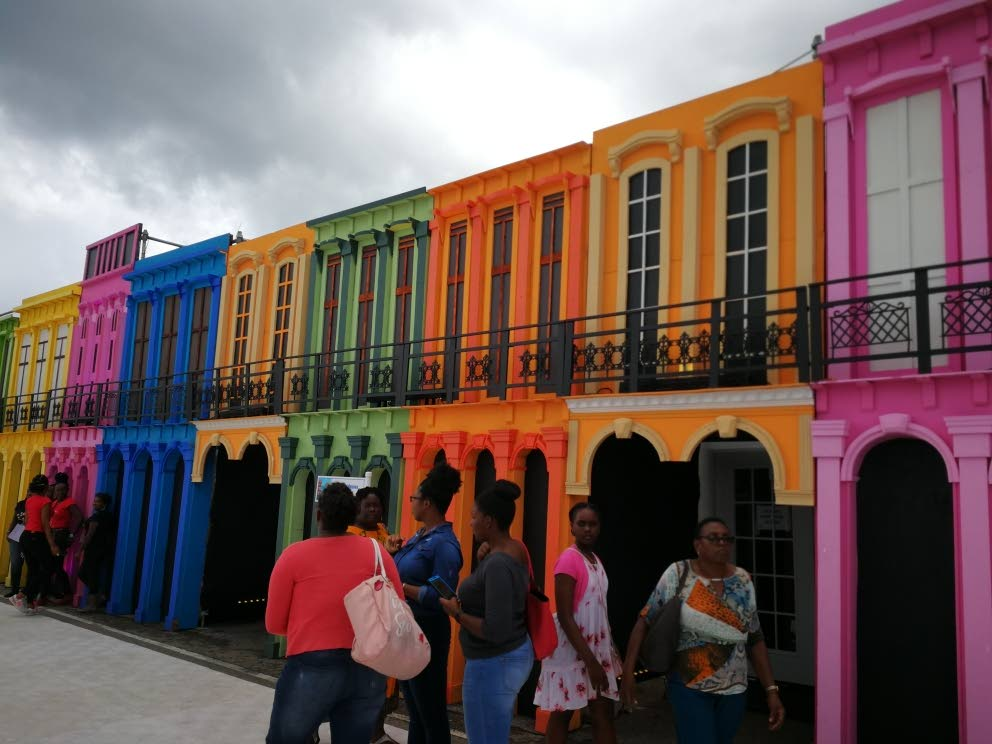 Curacao's colourful housing district. Photo by Joan Rampersad.