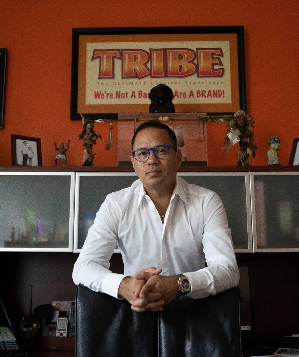 Group CEO of Tribe Carnival Dean Ackin.