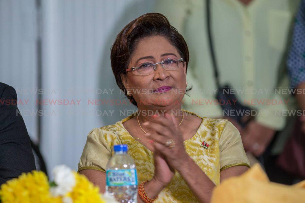 Opposition Leader Kamla Persad-Bissessar JEFF K MAYERS