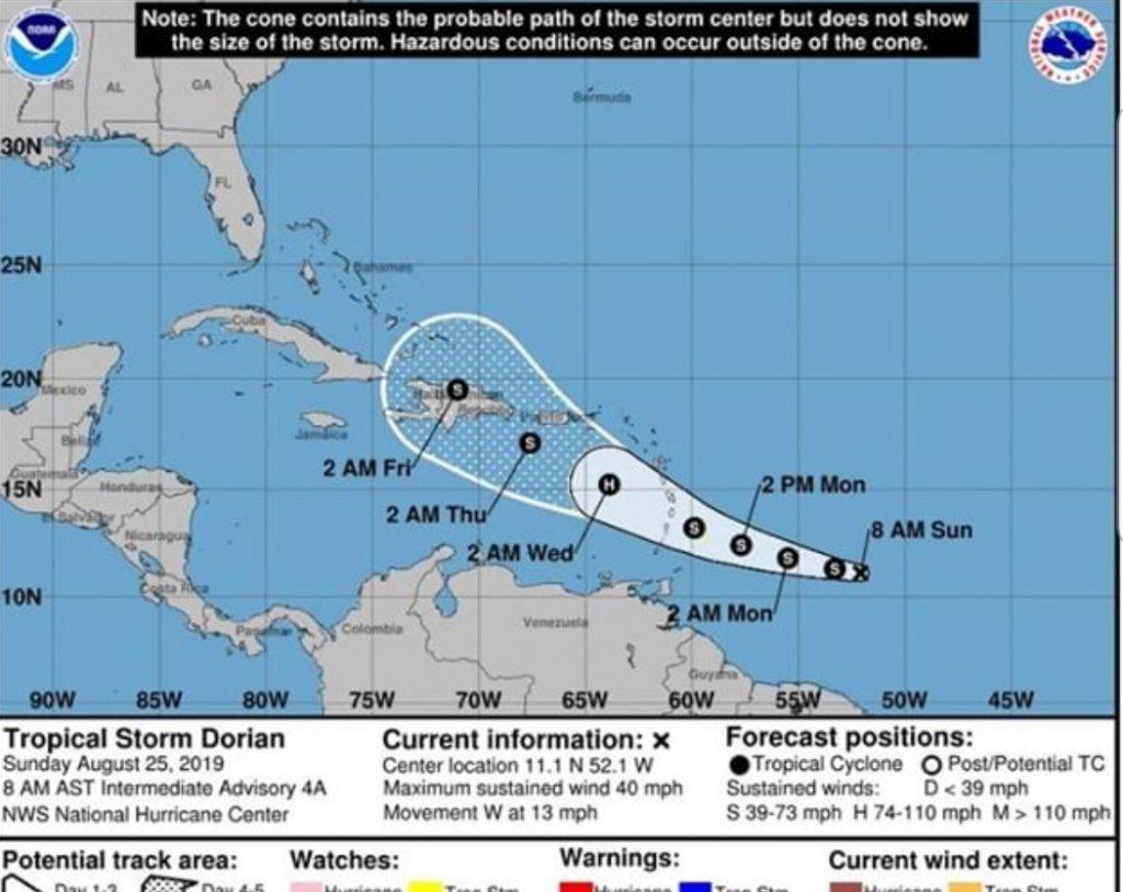 Image courtesy Hurricane Tracker