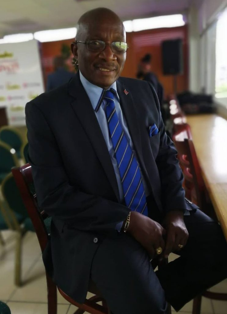 Winston Gypsy Peters - National Carnival Commission chairman.