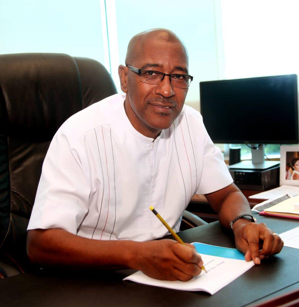 Public Utilities Minister Robert Le Hunte. FILE PHOTO