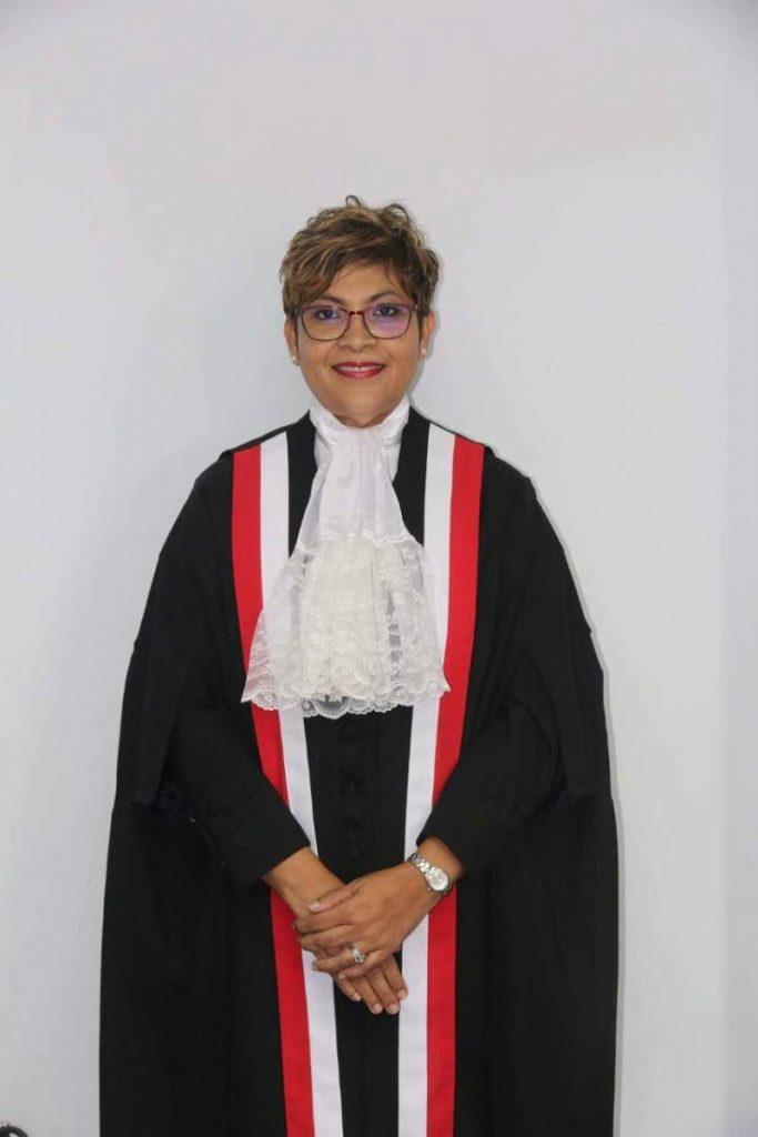 Justice Lisa Ramsumair-Hinds.