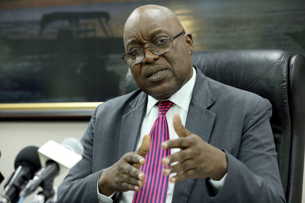 Chief Secretary Kelvin Charles