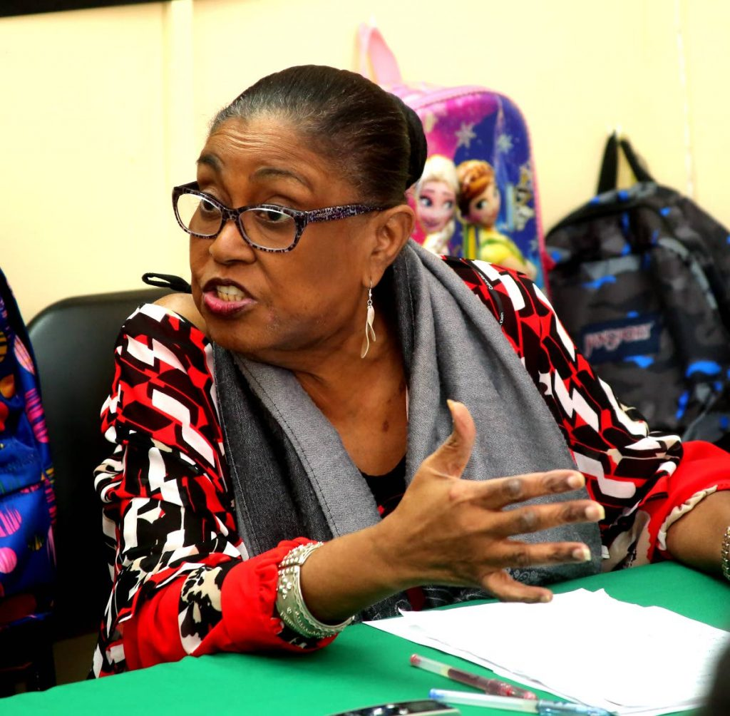 Port of Spain South MP Marlene McDonald at her constituency office on Piccadilly Street, Port of Spain on August 30. FILE PHOTO