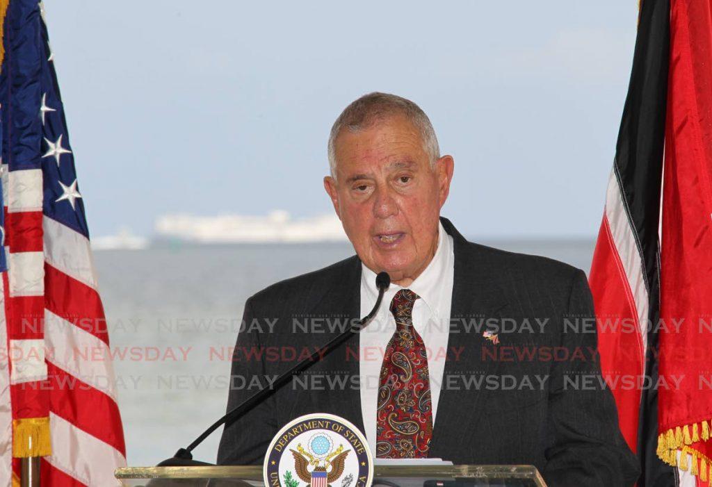 US Ambassador Joseph Mondello. Photo by Lincoln Holder