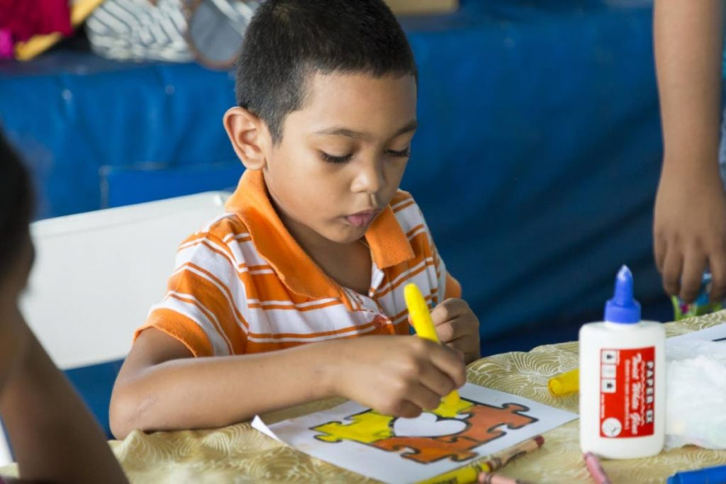 Creativity can help to increase literacy rates amongst special needs population.