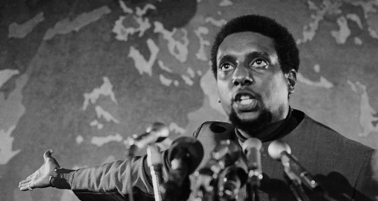 Trinidadian Kwame Ture was a leader in the civil rights and Black Power movements of the 1960s and 70s.