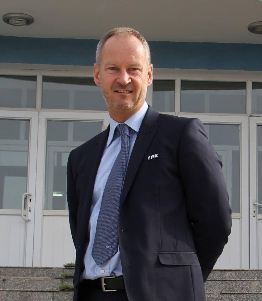 FIFA Futsal development consultant and ambassador Graeme Dell.