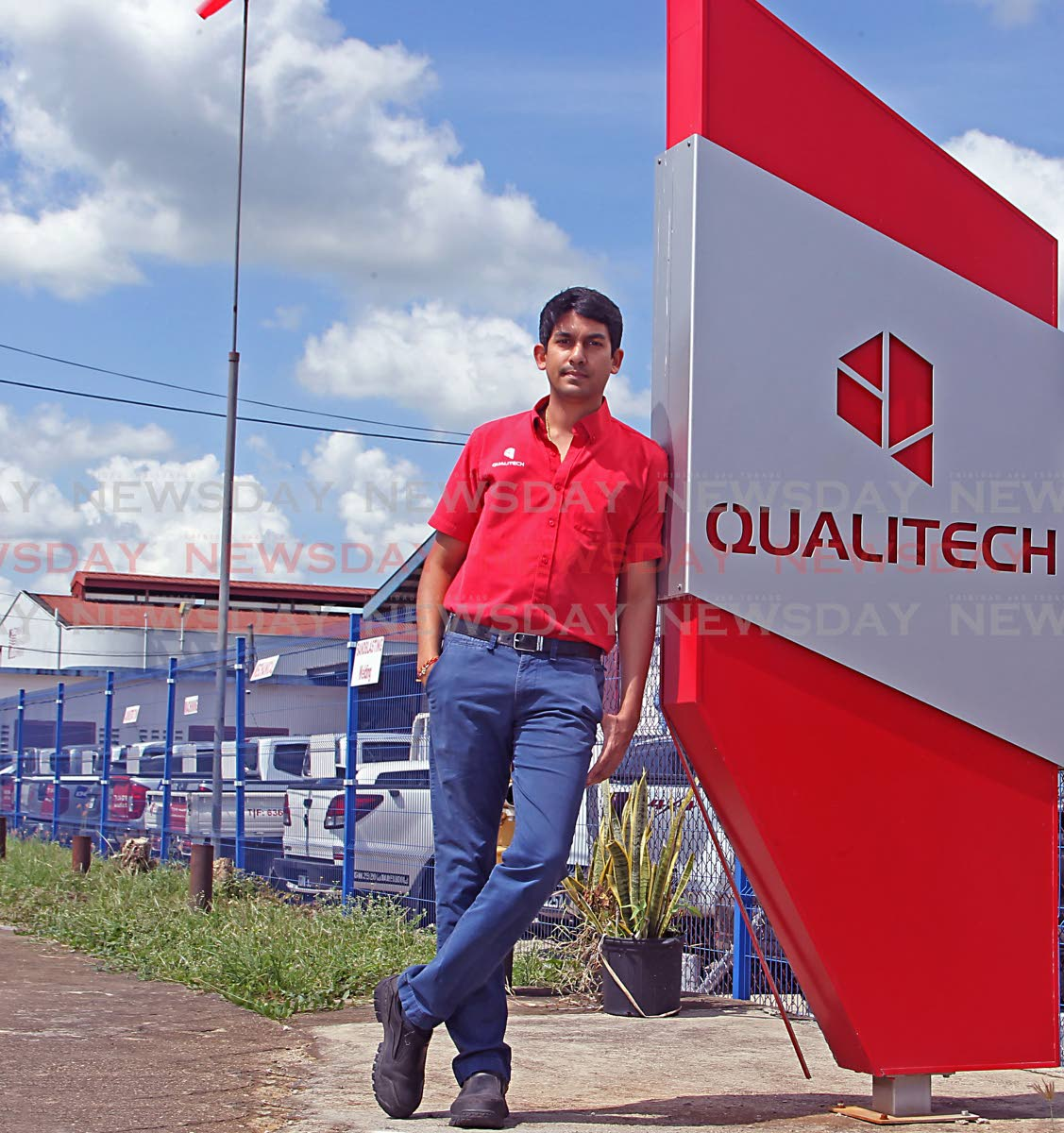 Deepak Lall, director of Qualitech Machining Services Ltd. What started as a small machine shop with three employees is now one of the region's leading engineering companies. Photo by Marvin Hamilton