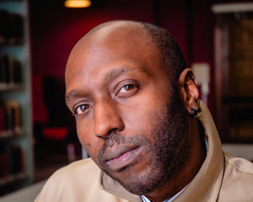 Jamaican writer Kei Miller   PHOTO COURTESY www.renaissanceone.co.uk