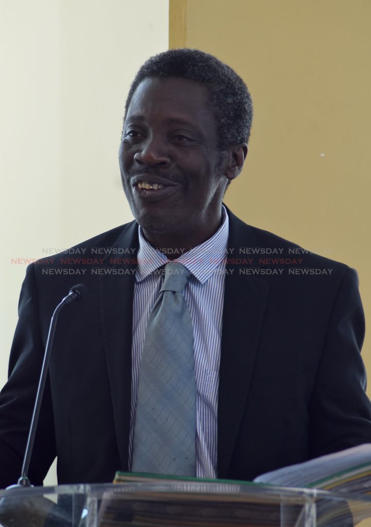 Norris Herbert, Permanent Secretary, Minister for Trade and Industry
