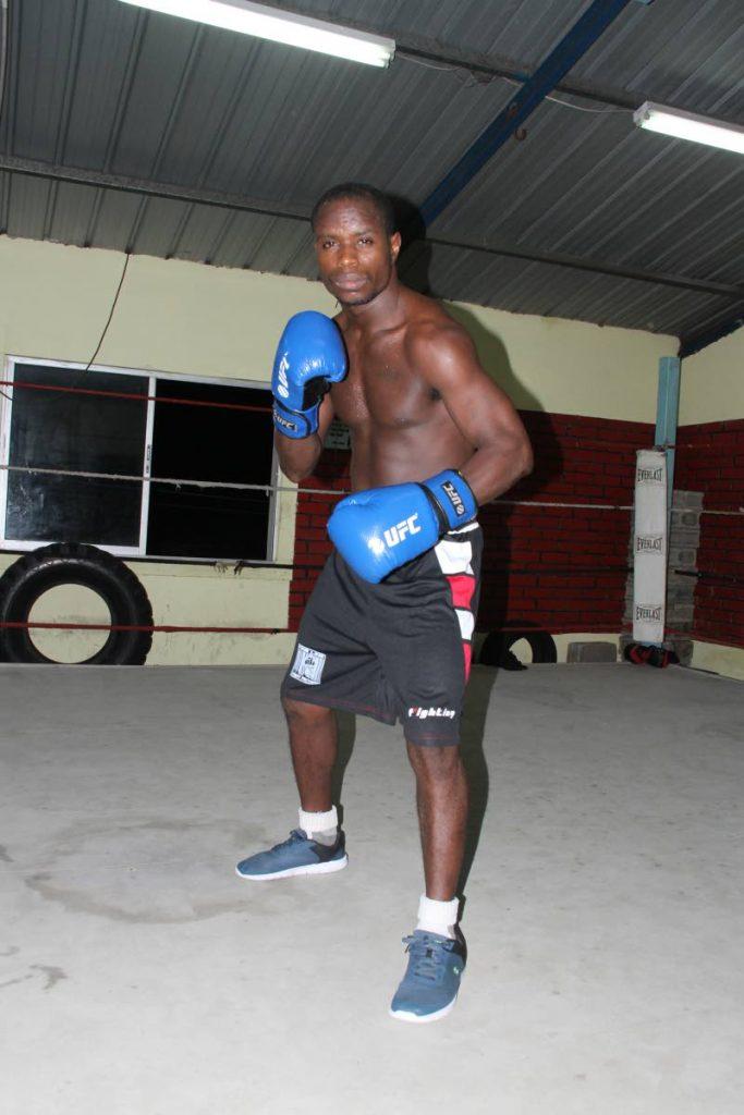 TT boxer Prince-Lee Isidore.