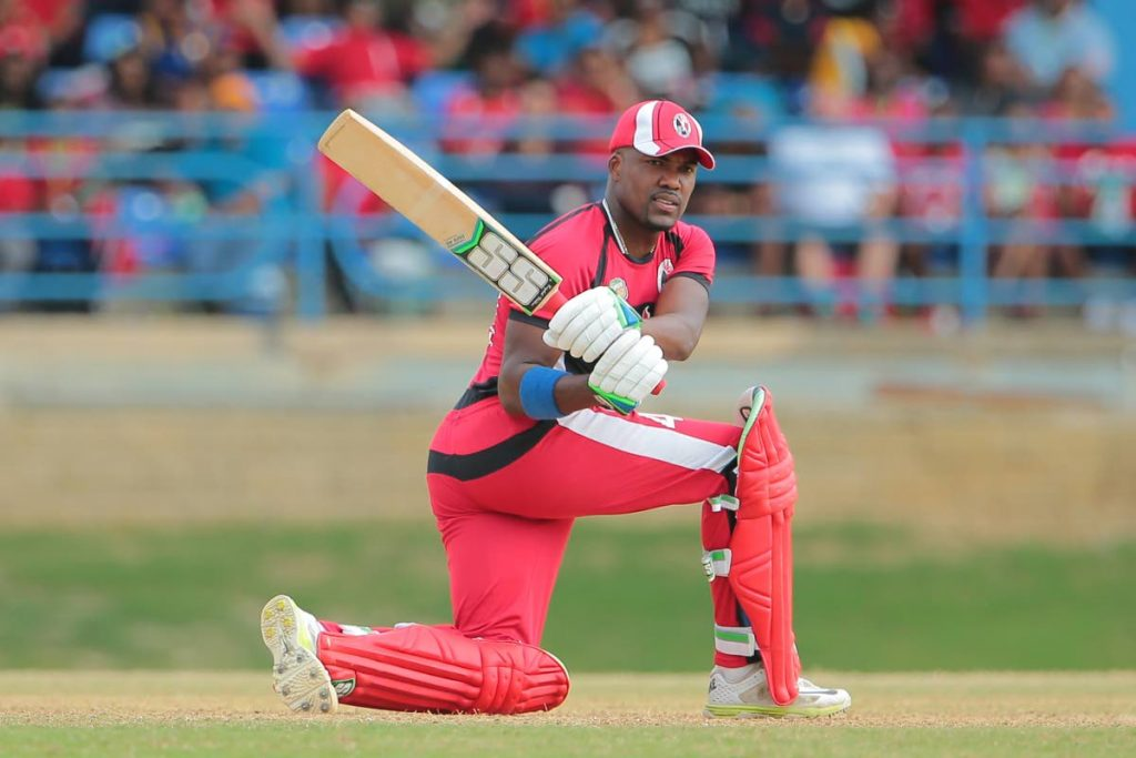 TT left-handed batsman Darren Bravo. - Ashley Allen