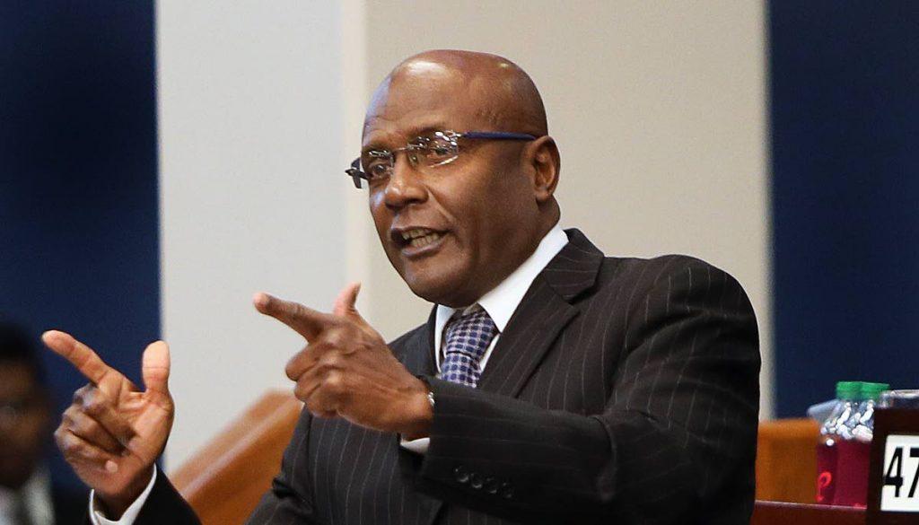 Naparima MP Rodney Charles.