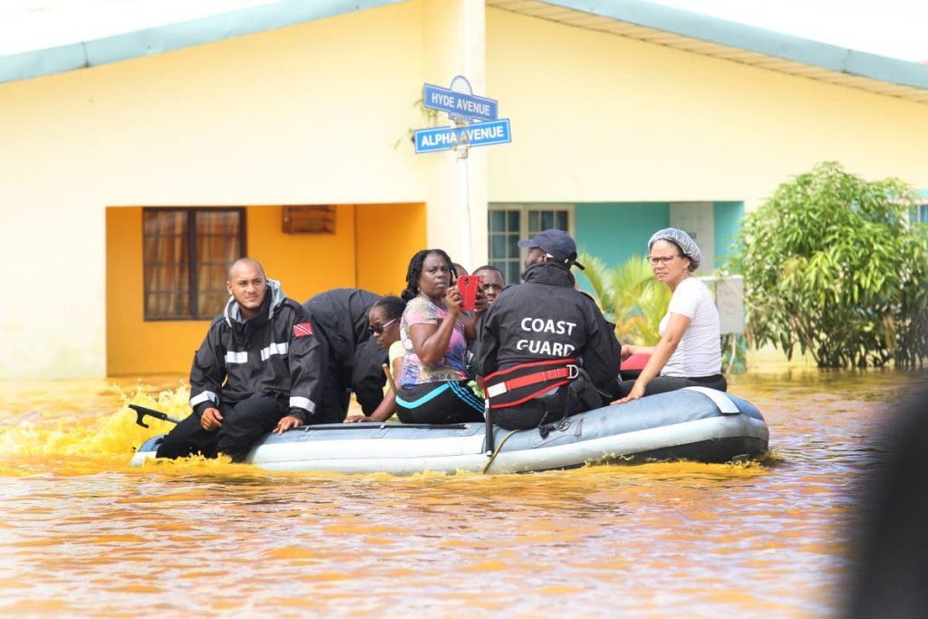 A Coast Guard rescue of Greenvale residents after devastating flooding in the La Horquetta community on October 20, 2018, FILE PHOTO/LINCOLN HOLDER -