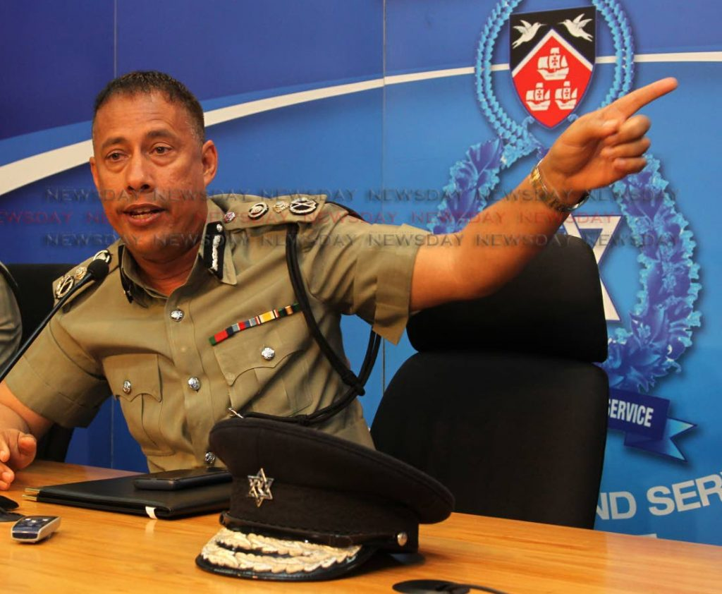 Police Commsissioner Gary Griffith - ROGER JACOB
