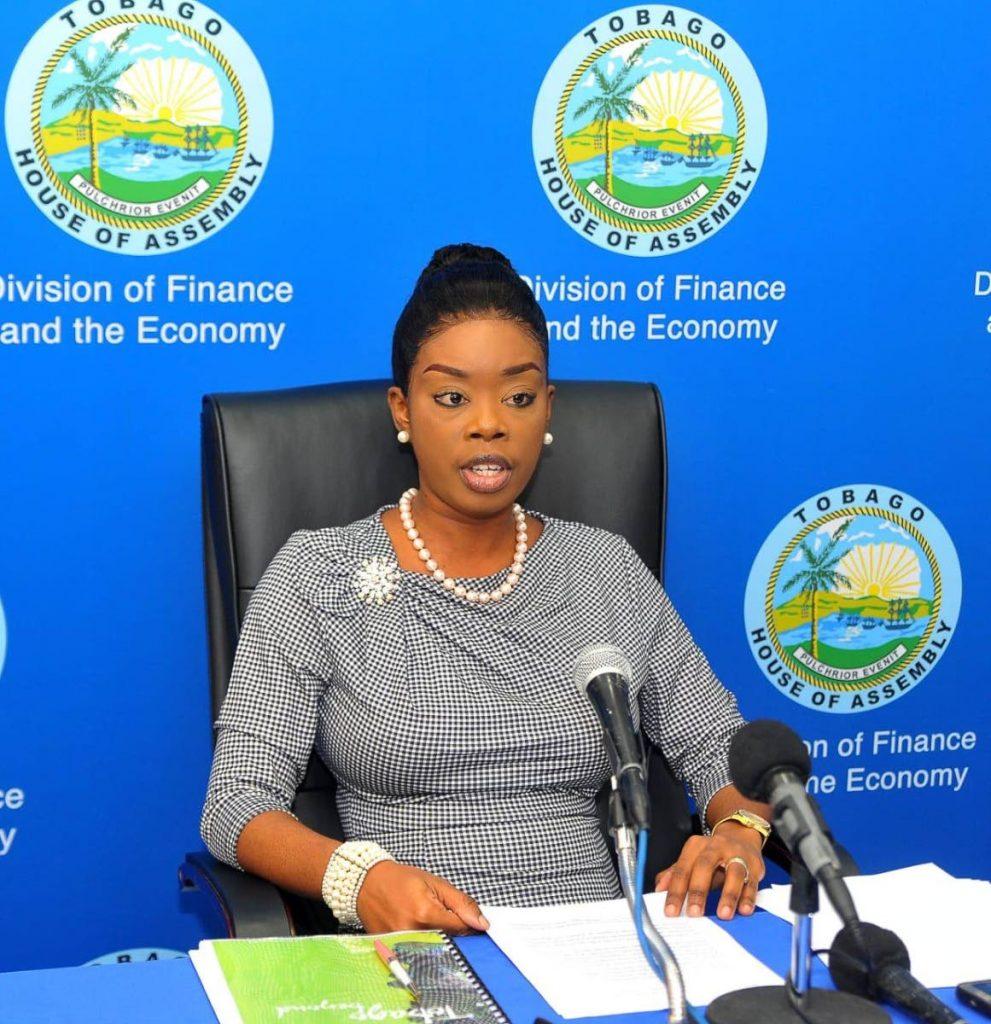 THA Tourism Secretary Nadine Stewart-Phillips.