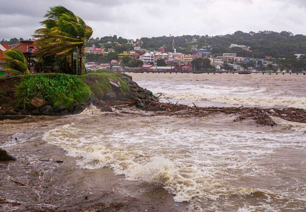 Tropical Storm Karen caused flooding, strong winds and choppy waters at the Scarborough Esplanade on September 22.  - DAVID REID