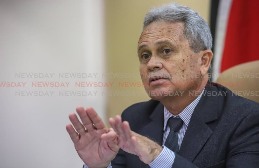 Finance Minister Colm Imbert will present the 2019-2020 budget on October 7. PHOTO BY JEFF K MAYERS