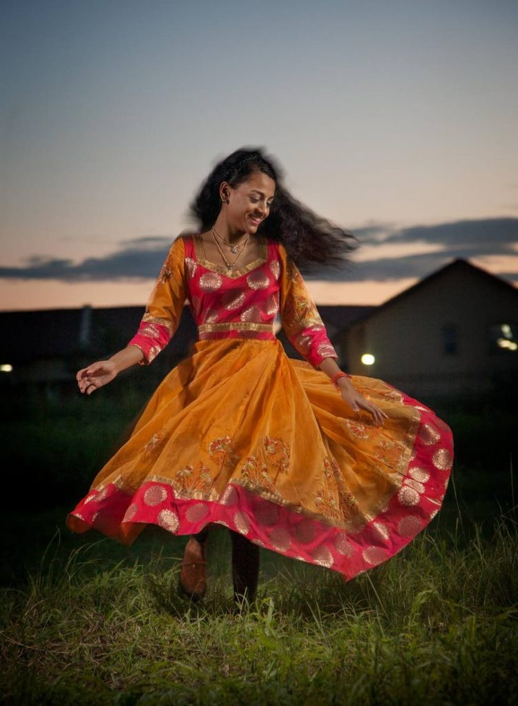 """Raveena Ramdeen ...""""I rather dance than almost anything."""" Photo by Mark Lyndersay"""