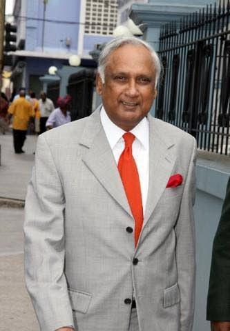 Satnarine Sharma.