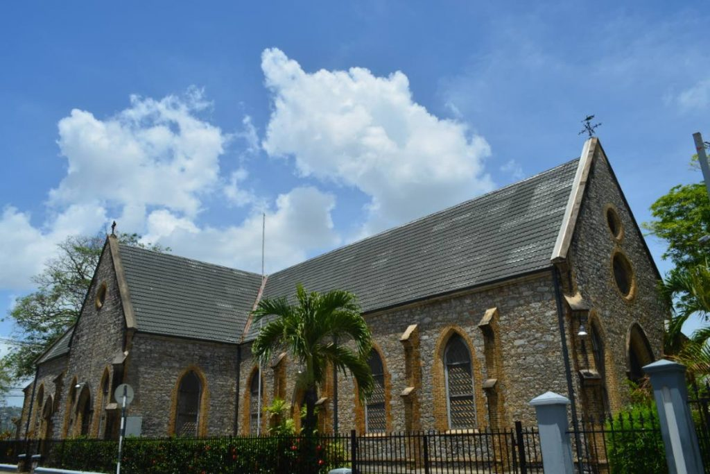 All Saints Church at  Marli Street and Queen's Park West, Port of Spain.  -