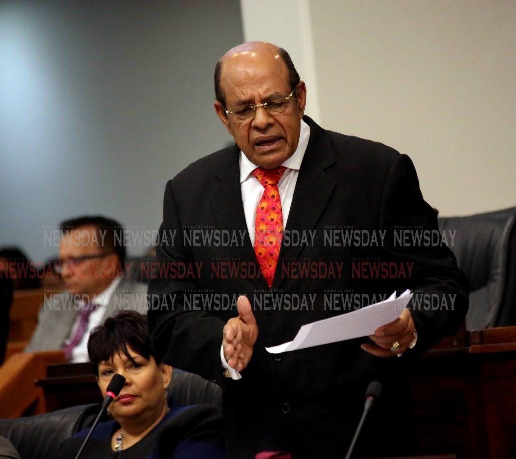 CARONI East MP Dr Tim Gopeesingh y. PHOTO BY SUREASH CHOLAI -