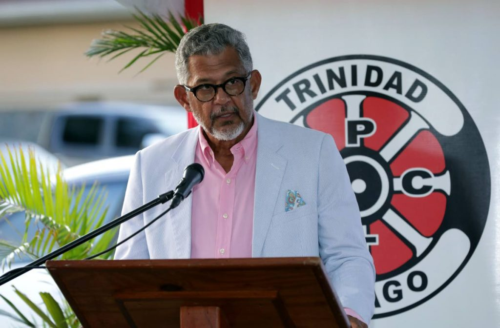 PTSC chairman Edwin Gooding said a new terminal will be constructed in Scarborough.  - DAVID REID
