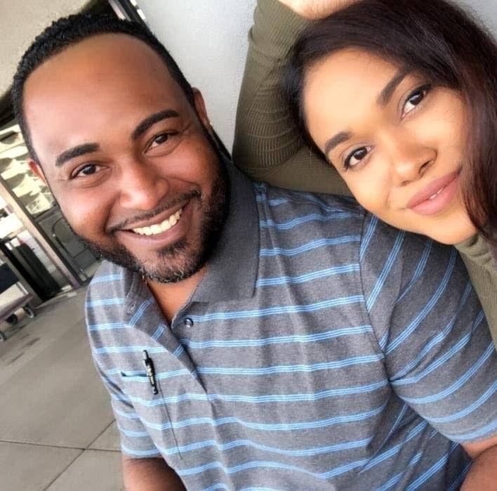 Keone Paryag and Danah Alleyne -