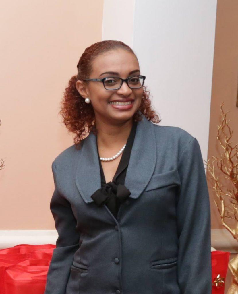 Ashley Borris, talent officer, Human  Resources, Unit Trust Corporation -