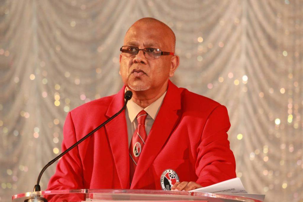 TTCB president Azim Bassarath. -