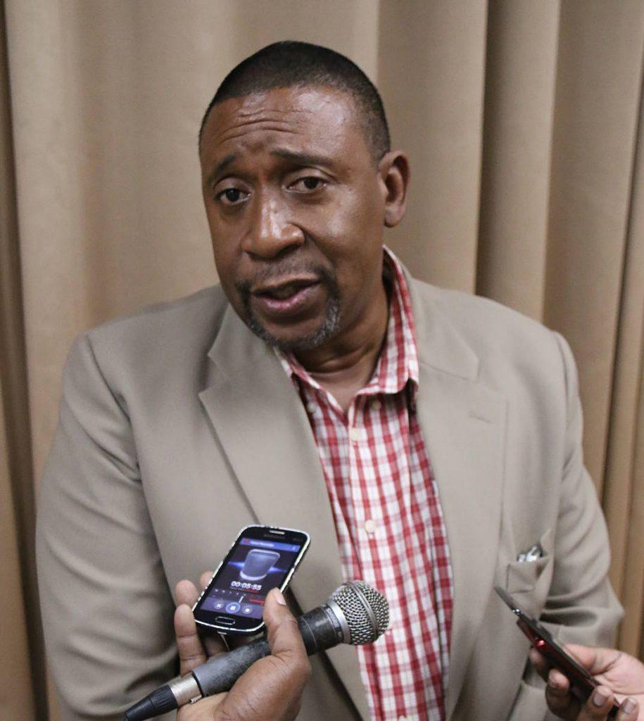 TT Football Association president David John-Williams. -