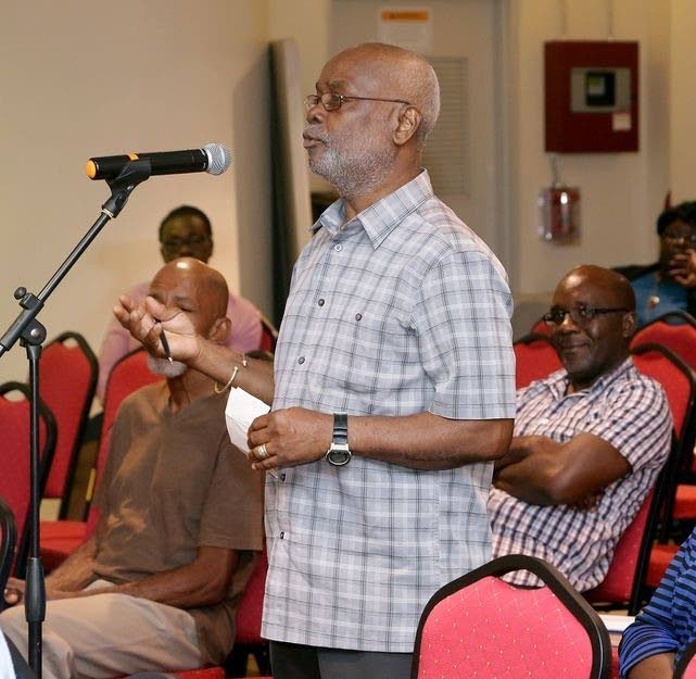 PNM Tobago Council chairman Stanford Callender  -