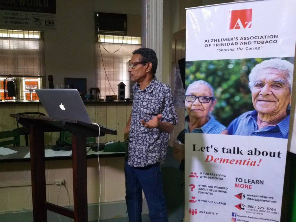 What do you think? Alternative health practitioner Wayne Cezair gives a look at how cocoa can be useful in treating persons suffering with the alzheimer's disease. Cezair presented at a workshop hosted by the POS support group of the TT Alzheimer's Association at the Cocoa Pod, POS.  - Tyrell Gittens