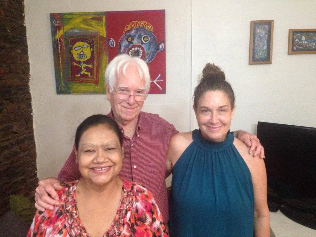 Kirsten, Geoffrey and Sian MacLean. -