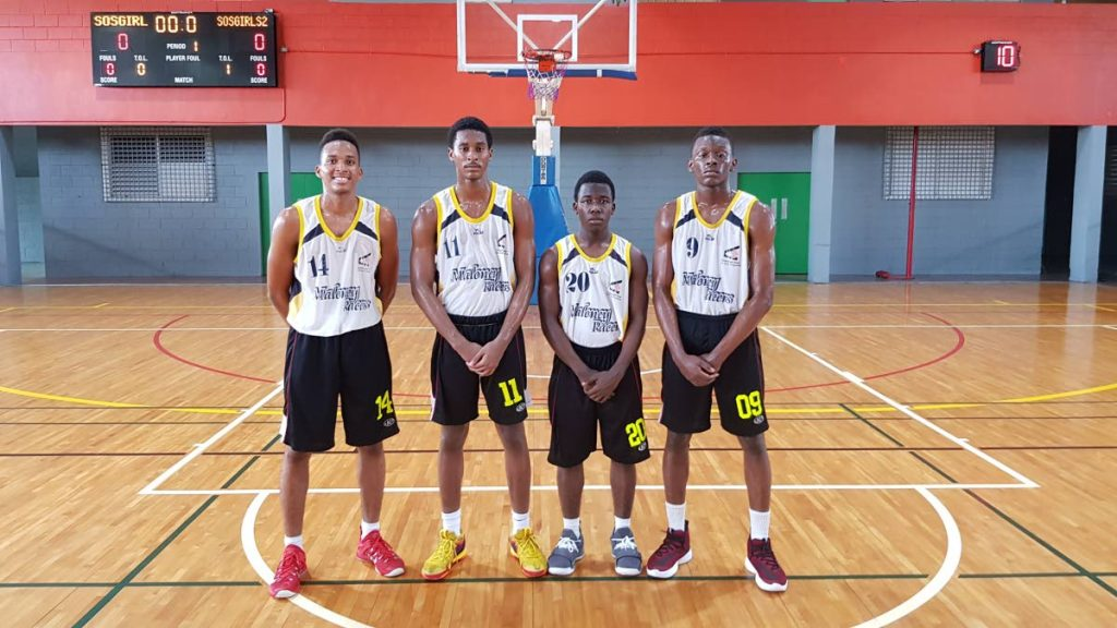 East Conference winners Maloney Pacers. -