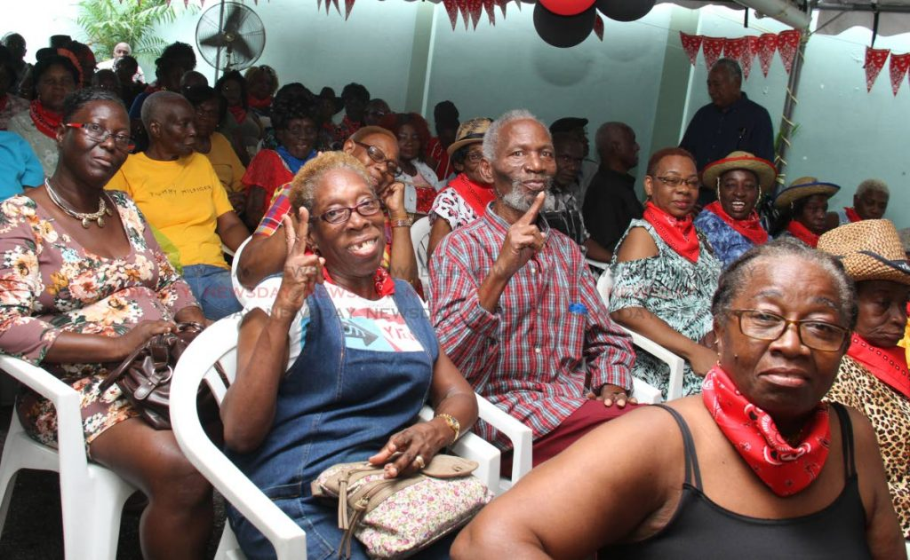 Participants in the chronic disease patients appreciation day at the George Street health clinic on Thursday. PHOTO BY AYANNA KINSALE - Ayanna Kinsale