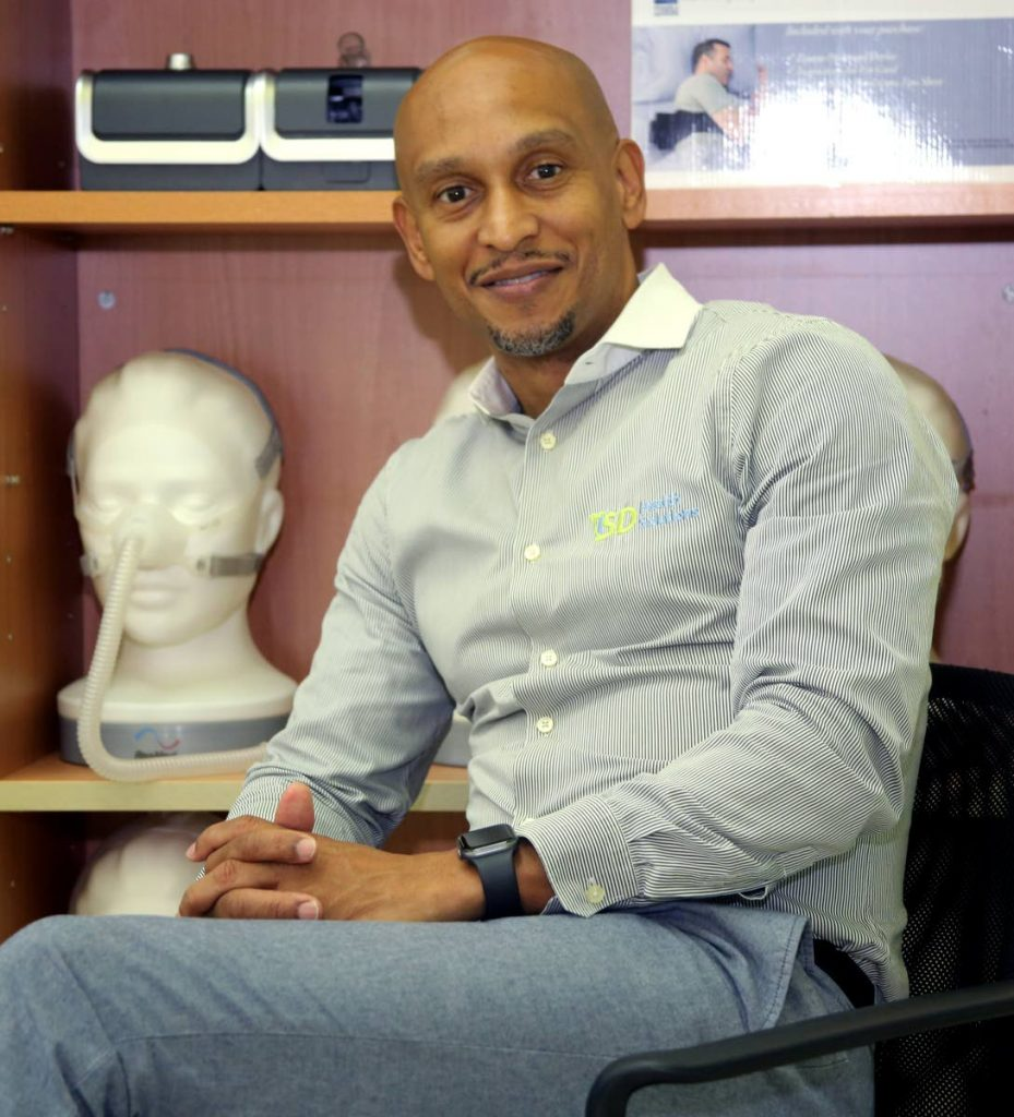 Gregory Arneaud founder of ISD Health Solutions said based on TT's population and its disease rate there is more than a potential risk of 300,000 people suffering from a sleep disorder.  - Sureash Cholai