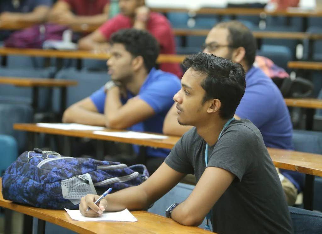 File photo: UWI students.