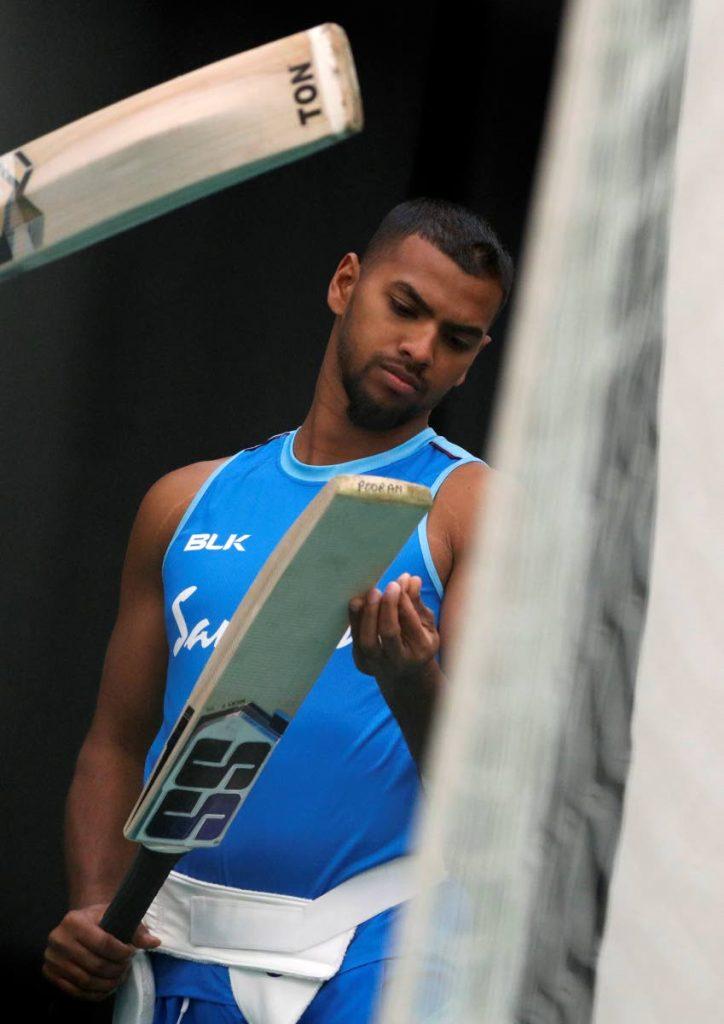 West Indies' Nicholas Pooran. -