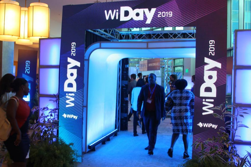 Fintech company WiPay hosts 'WiPay Day 2019,' a product and services launch, at the Hyatt Regency in Port of Spain, Trinidad on Thursday November 14, 2019. - ROGER JACOB