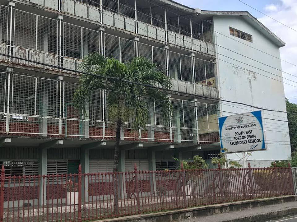 South East Port of Spain Secondary School.  - Julien Neaves