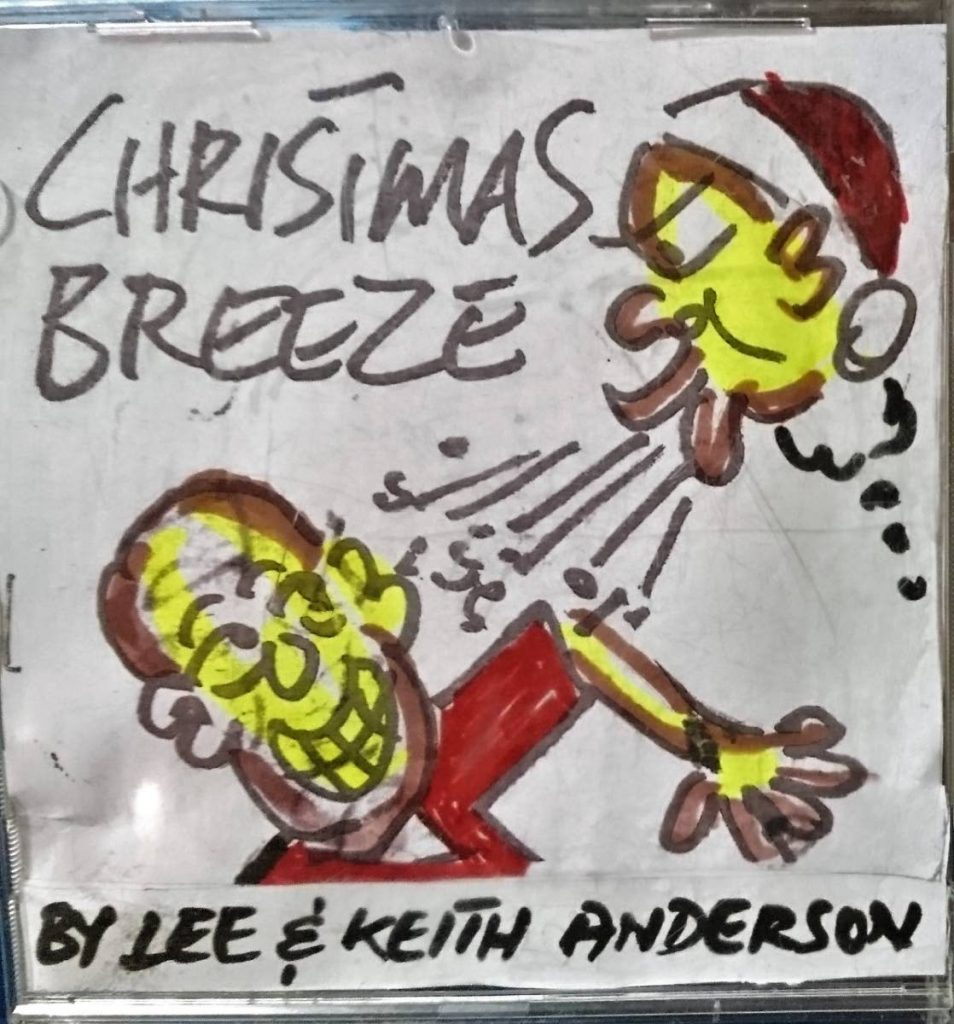 The cover of Christmas Breeze as illustrated by Keith Anderson.  -